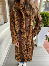Load image into Gallery viewer, Leopard Kidskin Coat