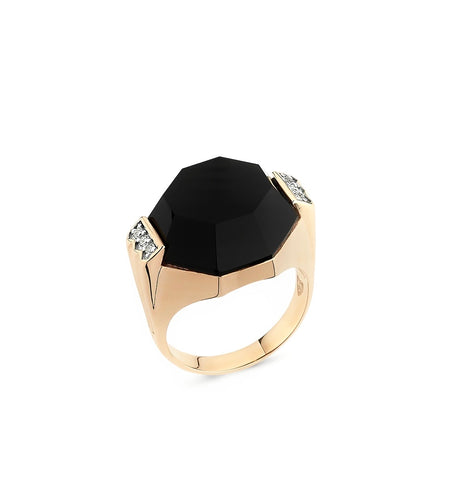 Deep Space Onyx Ring