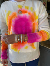 Load image into Gallery viewer, Tie Dye Cashmere Sweater