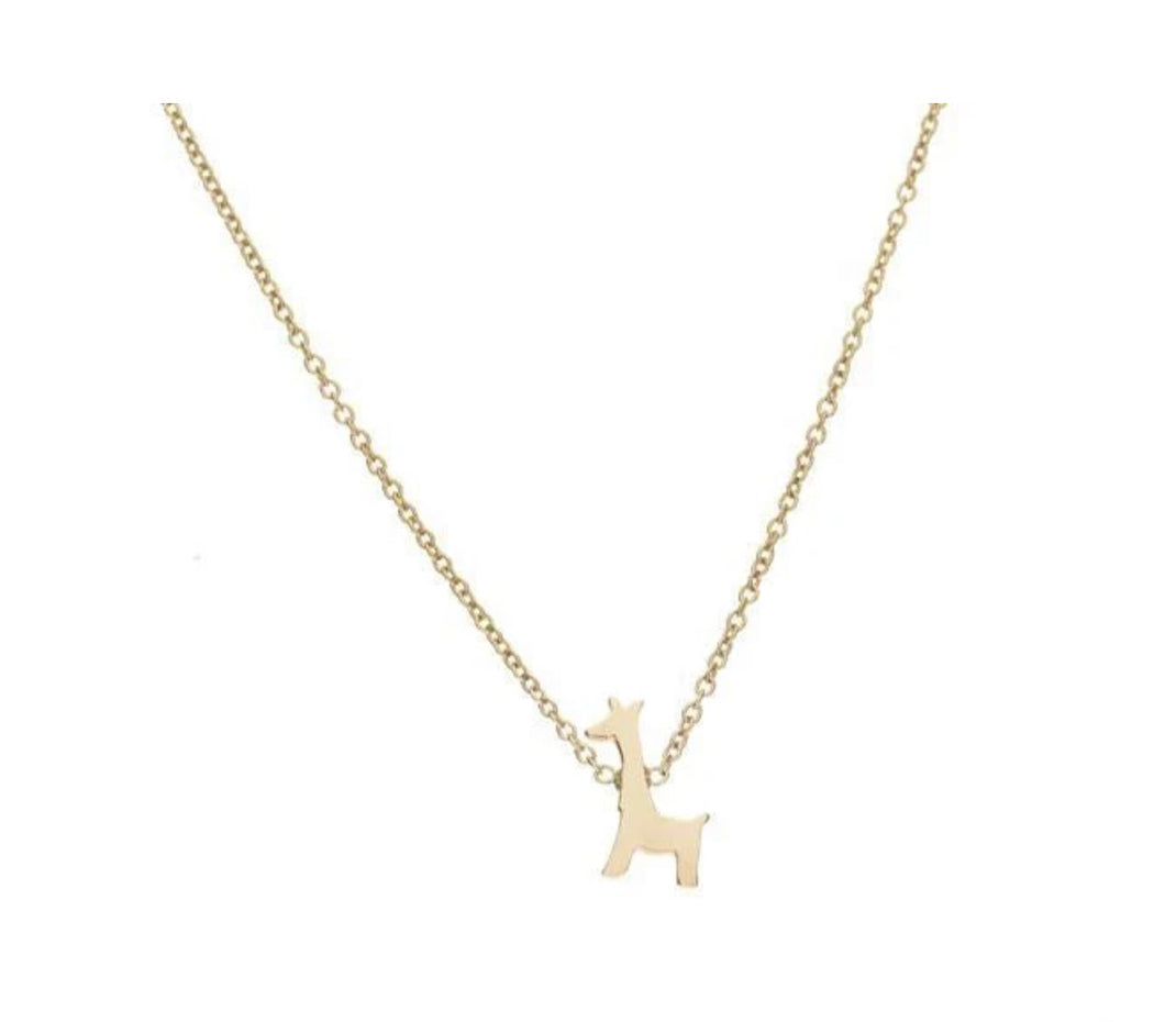 The Menagerie :: Giraffe Necklace