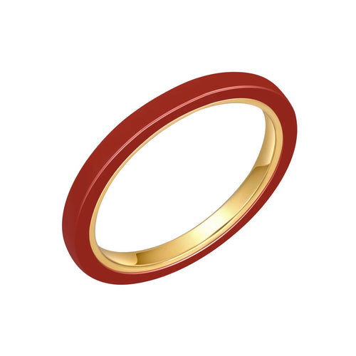 Red Ceramic Ring