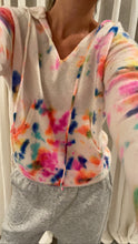 Load image into Gallery viewer, Tie Dye Cashmere Hoodie