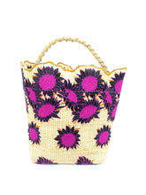 Load image into Gallery viewer, Sunflower Bucket Bag