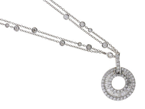Diamond Sphere Necklace
