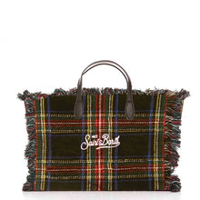 Load image into Gallery viewer, Small Tartan Pattern Saint Barth Bag