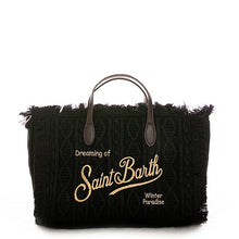 Load image into Gallery viewer, Small Wool Fringe Saint Barth Bag