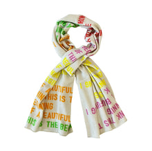 Load image into Gallery viewer, Cashmere Beautiful Thing Scarf