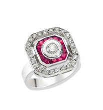 Load image into Gallery viewer, Paris Ruby Ring
