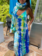 Load image into Gallery viewer, Tie Dye Silk Dress
