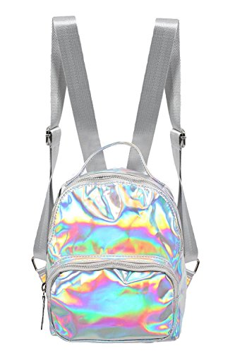 Holographic Backpack in Silver