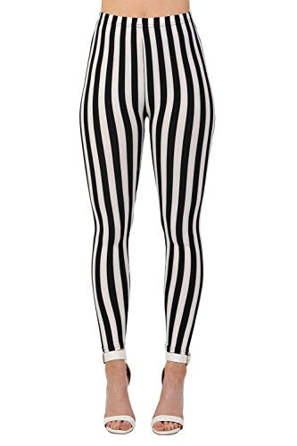 Stripe Detail Leggings in Black