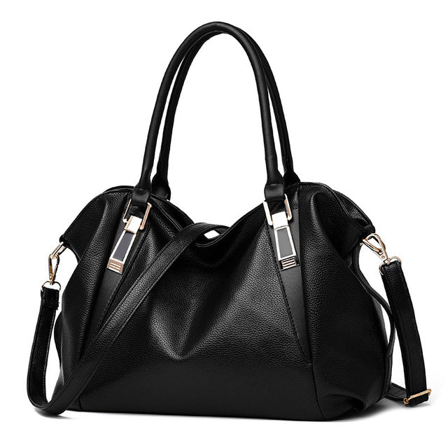 [ Herald Fashion ] Designer Women's Handbag, PU Leather Portable Shoulder Bags for Office Ladies