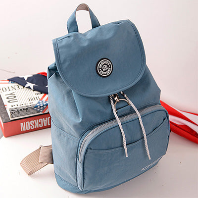 Preppy Style Women's Backpack, Waterproof Nylon Backpack, 10 Colors Lady Women's Backpacks, Casual Travel Bag
