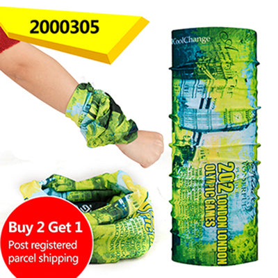 Buy 2 Get 1 CoolChange Bicycle Seamless Bandanas for Summer, Outdoor & Sport Magic Scarf Cycling Headband