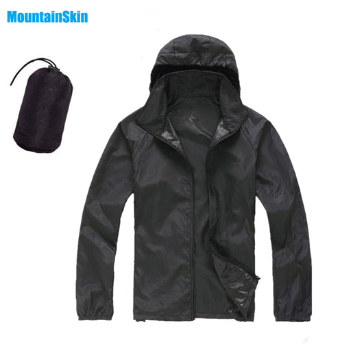 Unisex Quick Dry Skin Jackets, Waterproof, Anti-UV Coats for Outdoor, Sports