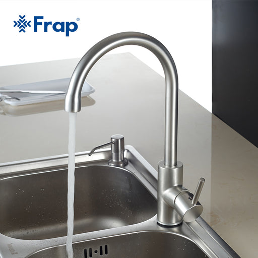 Frap Hot And Cold Water Classic Kitchen Faucet, Basin Faucet 360 Degree Rotation F4052