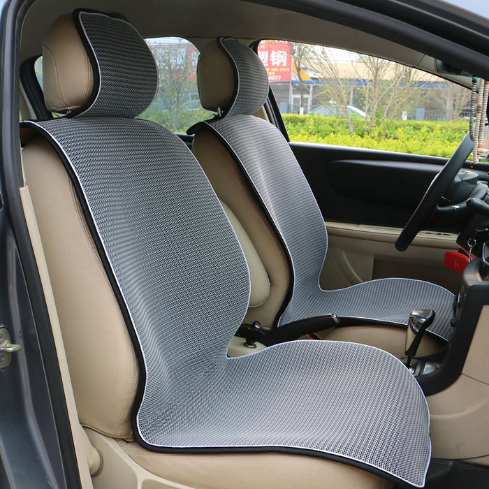 1 pc Breathable Mesh Car Seat Covers - Fit for Most Cars / Summer Cool Seat Cushion Luxurious Style
