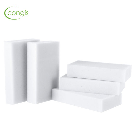 Congis 100Pcs/lot 100*60*20 High Quality Magic Clean Sponge Melamine eraser Cleaner,Bathroom kitchen Accessories Cleaning Tools