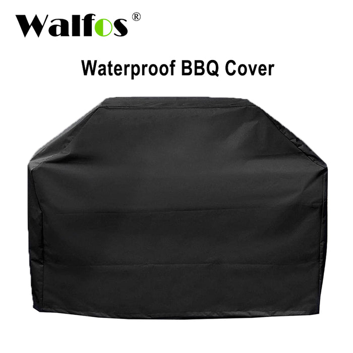 WALFOS Brand Waterproof BBQ Grill Barbeque Cover Outdoor Rain Grill Barbacoa Anti Dust Protector For Gas Charcoal Electric Barbe