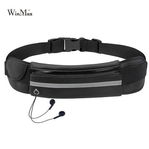 New Outdoor Running Waist Bag, Waterproof Mobile Phone Holder, Jogging Belt Belly Bag for Women