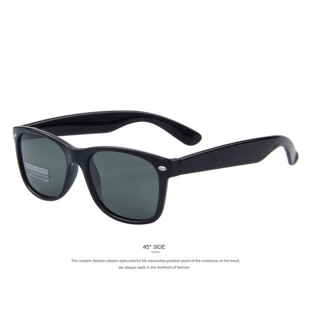 MERRY'S Men's Classic Polarized Sunglasses with Plastic Frame & UV400 Protection Lens - S'683
