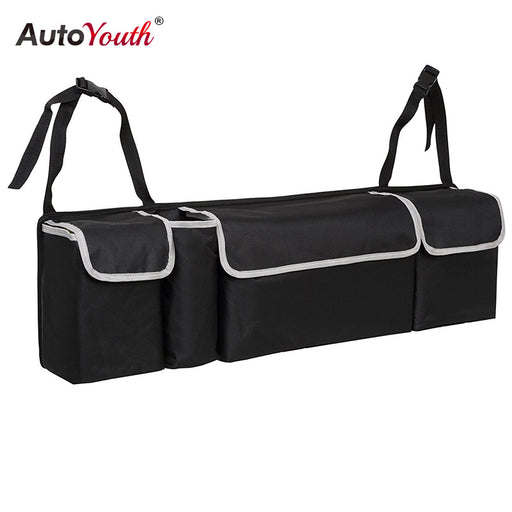 Car Trunk Organizer Backseat Storage Bag, High Capacity, Multi-use Oxford Cloth