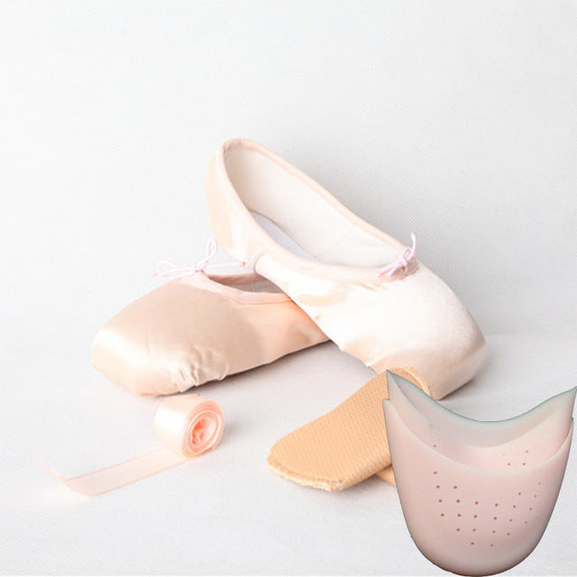 LUCYLEYTE Child and Adult Ballet Pointed Dance Shoes for Professional Ballet Dancers ( Size 28-43 )