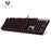 MOTOSPEED CK104 Gaming Wired Mechanical Keyboard 104 Keys Real RGB Blue Switch LED Backlit Anti-Ghosting for Game