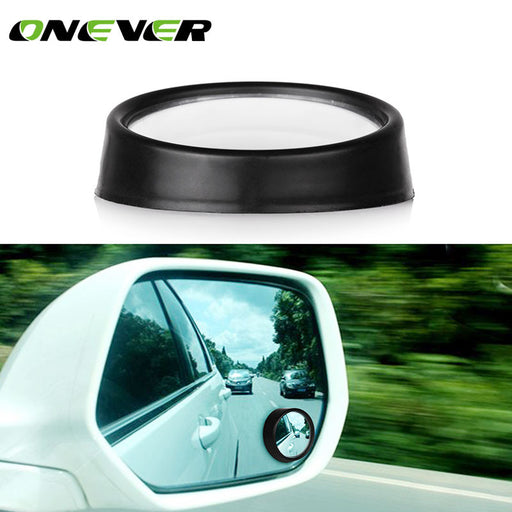 Onever Clear Car Rear View Mirror Wide Angle Blind Spot Mirror Round Convex Parking Mirror Auto Exterior Parking Accessories