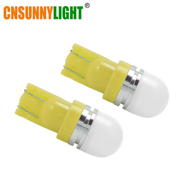 2pcs T10 W5W 194 168 LED Car Parking Side License Plate Bulb Interior Reading Lamp Wedge Dome Turn Signal Light 12V