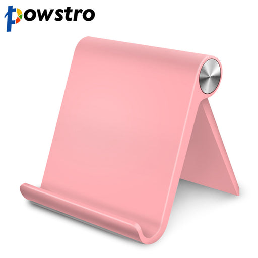 Powstro Universal Flexible Phone Desk Holder for iPhone Samsung Xiaomi Huawei Mobile Cellphone and Tablet Portable V-shape Stand