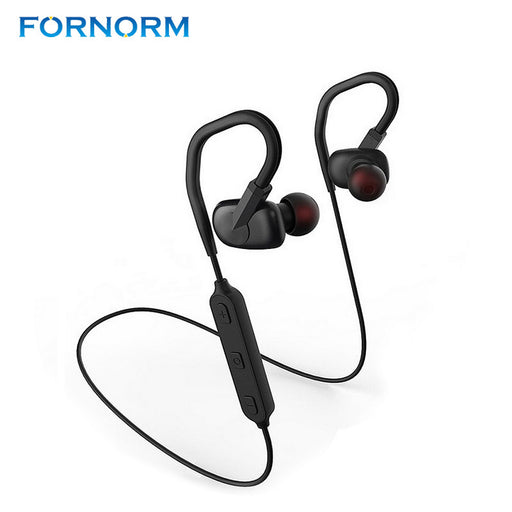 FONORM W2 Bluetooth V4.1 Headphones Wireless Sports Handsfree Earphones Sweatproof Headsets Stereo With Mic For Samsung iPhone