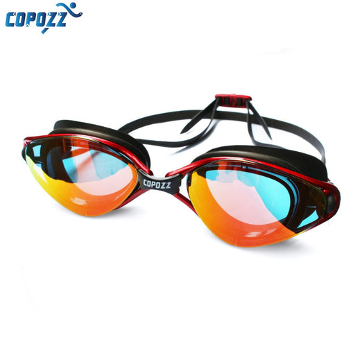 Copozz New Professional Anti-Fog UV Protection Adjustable Swimming Goggles for Men & Women, Waterproof