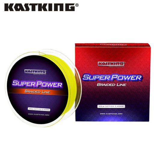 KastKing SuperPower Series 300m 500m 1000m 4 Strand 10-50LB Braided Fishing Line PE Multilament Braid Lines Lake River Fishing