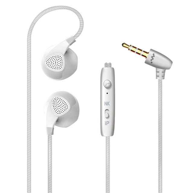 Briame Earphone For iPhone 6 6S 5 5S Headphones With Microphone 3.5mm Jack Bass Headset For apple Xiaomi sony Sport Headphones