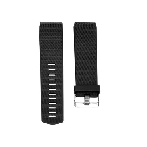 S Size 21cm Silicone Watchband Strap Band Replace Smart Bracelet Straps Bands with Buckle for Fitbit Charge 2 Smart Watch