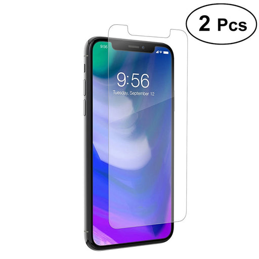 2Pcs Tempered Glass Screen Protector 9H Hardness 3D Touch HD Tempered Glass Screen Protector for Apple iPhone X