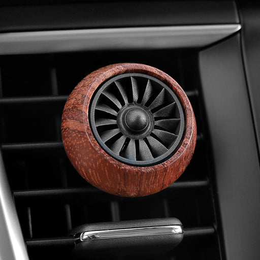 Car Scent Wood Car Air Vent Perfume Solid Fragrance Clip Air Freshener Auto Creative Aromatherapy Scent Decoration Accessories