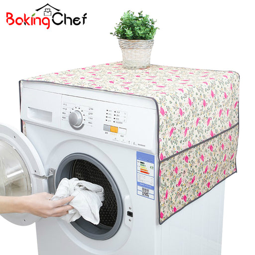 BAKINGCHEF Household Washing Machine Covers for Home Refrigerator, Waterproof Cleaning Organizer