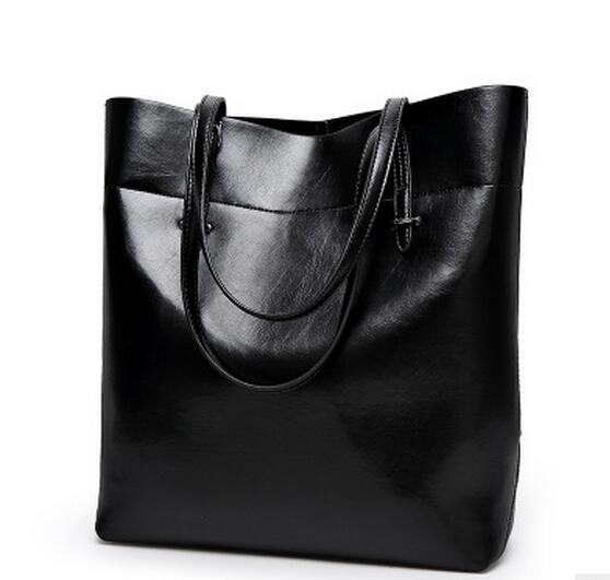 2018 New Leather Leisure Women's Bag, Fashion Style, Top-Handle Design Tote