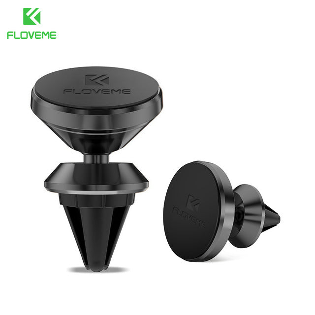 FLOVEME Universal Car Holder 360 Degree Magnetic Car Phone Holder GPS Stand Air Vent Magnet Mount for iPhone 5s 7 6 8 X Soporte