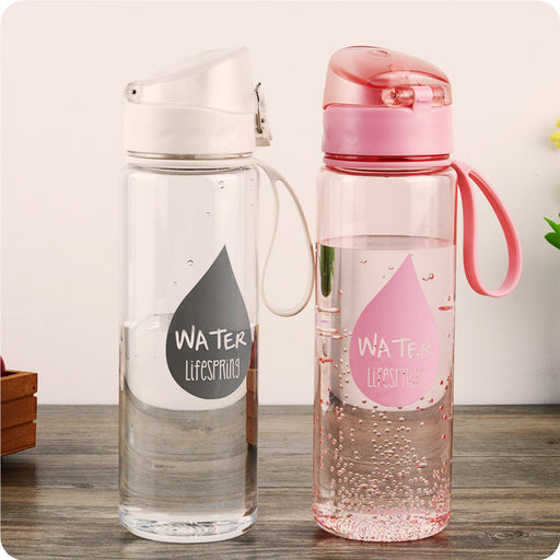 [YiHAO]  Sports Water Bottles, Leak-proof, Automatic Buckle, 500ml