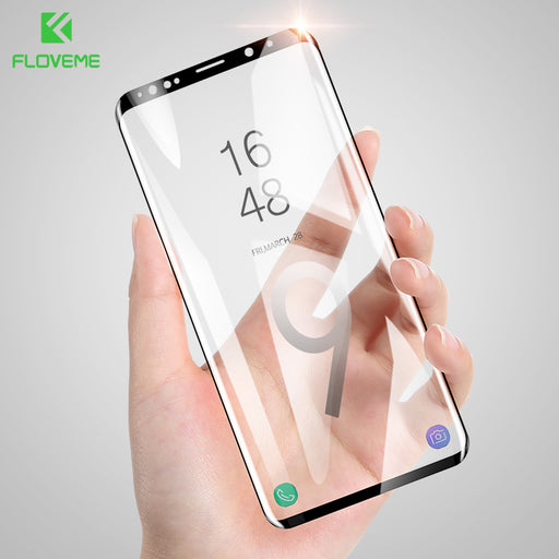 FLOVEME Soft Screen Protector For Samsung Galaxy S9 S8 Film 3D Curved Full Screen Cover For Samsung S8 Plus Not Tempered Glass