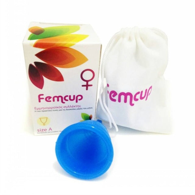 2016 Femcup New Shape Reusable Medical Grade Silicone Menstrual Cup/Lady Cup Feminine Hygiene Product for Women 6 colors choose