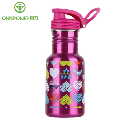 Ownpower New My Stainless Steel Water Bottle, Leak-Proof Seal, Sports Drinking Water Bottles