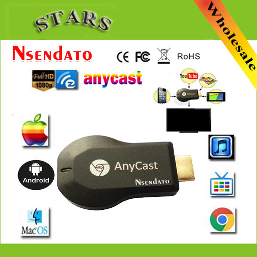 128M Anycast m2 ezcast miracast Any Cast AirPlay Crome Cast Cromecast HDMI TV Stick Wifi Display Receiver Dongle for ios andriod