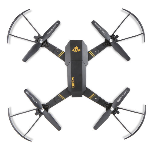 VISUO XS809HW Wifi FPV 0.3MP Camera Foldable 2.4G 6-Axis Gyro Selfie Drone Barometer Height Hold RC Quadcopter G-Sensor RTF