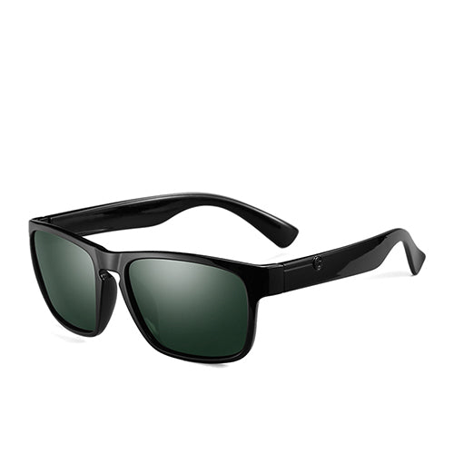 POLARKING Men's Square Type Polarized Travel & Driving Sunglasses