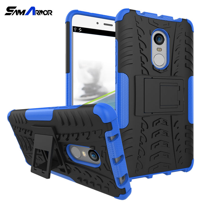 Case Cover TPU +PC Phone Stand Case For Xiaomi Redmi 4 4A 3S 3 S 4X 5 Plus Note 3 4 Pro Prime 4X 5A Mi A1 5X Luxury