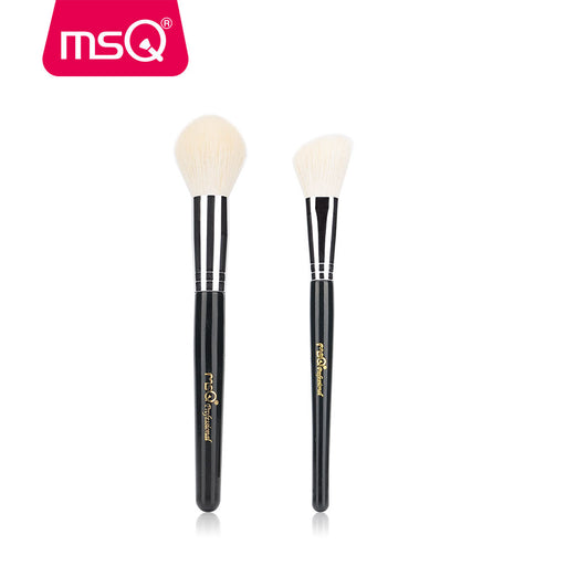2pcs Hair Powder Makeup Brushes, Blusher Contour, Make Up Brush Set